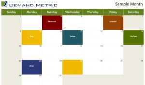 social media marketing calendar 2013